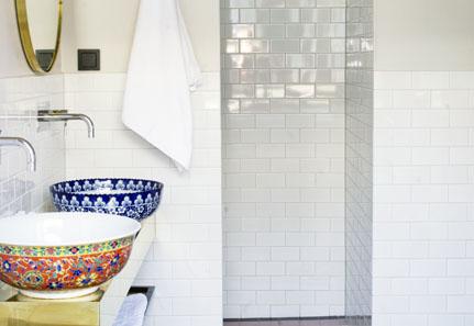 Quirky Bathroom Sinks ze interior designs: colourful swedish bathroom