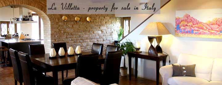 Real Italy - Villa holidays and property for sale