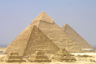 Pirámides de Giza dignas para el Turismo Aventura