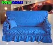 El baul de monica decorar con la crisis parte dos for Cobertores para muebles de sala