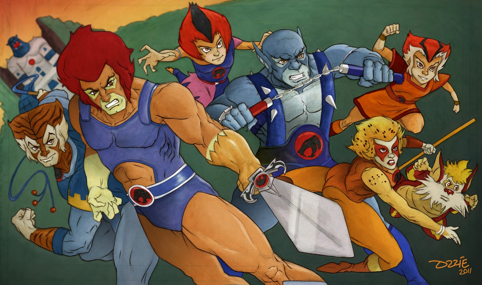 Cartoon Characters Of The 80s : Ozzie rodriguez comic thundercats