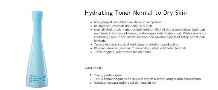 Hydrating Toner Normal to Dry Skin $ 8