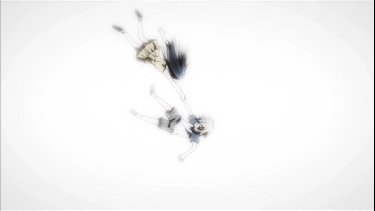 Ryota's flashback to Kuroneko's death