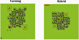 Kumpulan Gambar Formasi Base Clash of Clans (COC) Terbaik Town Hall 1-10