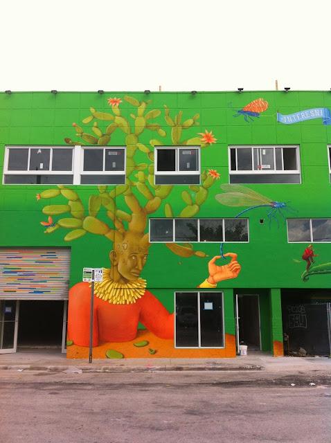 Street Art By Ukrainian Artists Interesni Kazki On The Streets Of Miami For Art Basel '13. 7