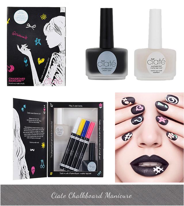 Ciate Chalkboard Manicure Nail Kit £25 Matt nail polish