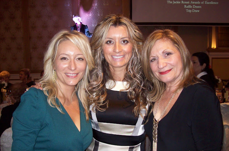 Jackie Rosati Award Recipients Andrea Trentadue (CHIN) and Laura Tonelli (Caritas)