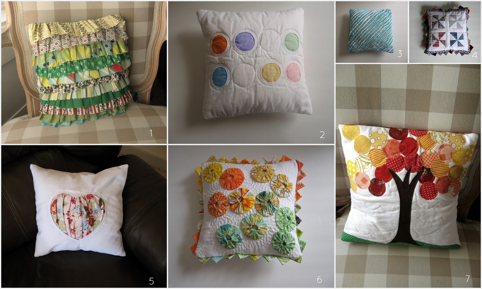 Ruffled Christmas Pillow Cover Tutorial & Pickup Some Creativity: Ruffled Christmas Pillow Cover Tutorial pillowsntoast.com