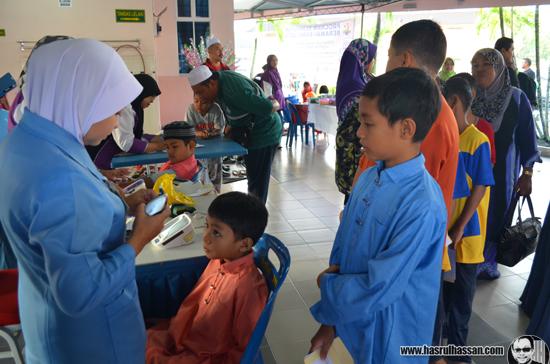Majlis Khatan Beramai Ramai Hospital Parit Buntar 2014
