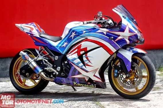 Gambar Modifikasi Knalpot Kawasaki Ninja 250 R 2014