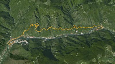 GPS Alta Via del Tabacco