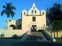 Iglesia Ermita Santa Isabel Merida Yucatan Mexico