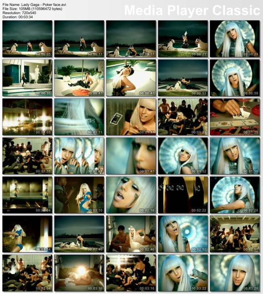 download song poker face