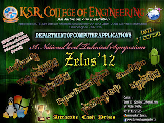 zelos12 symposium on KSRCE
