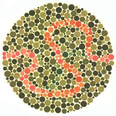 Prueba de daltonismo - Carta de Ishihara 37