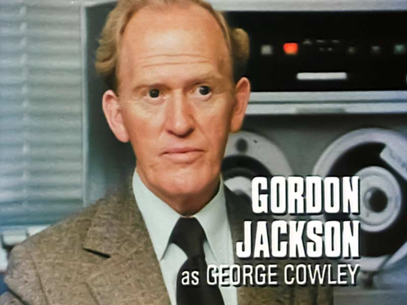 gordon jackson thinking back