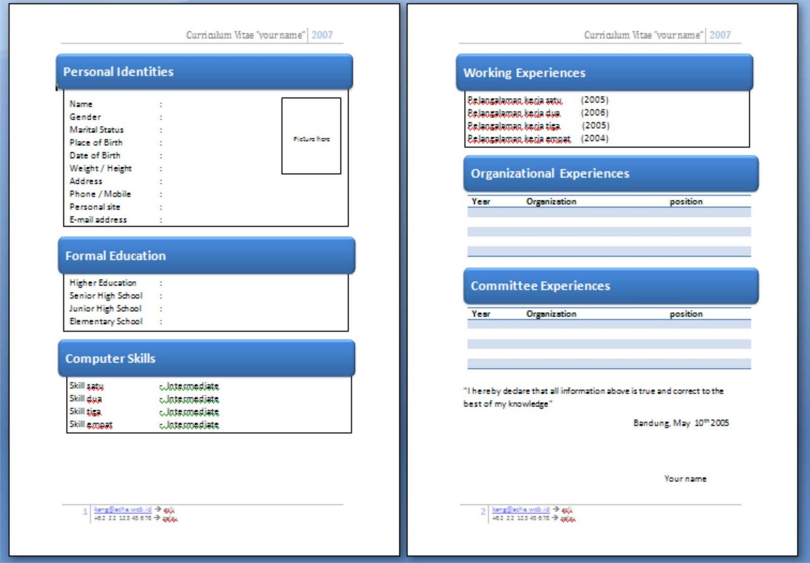Contoh Application Letter Dalam Bahasa Melayu Buy