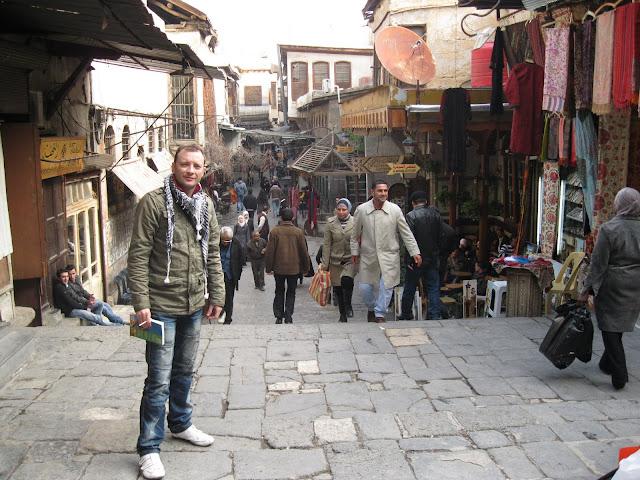 En Damasco, Siria