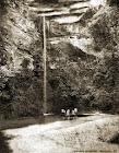 Cahoeira da Gruta do Itambé em 1900