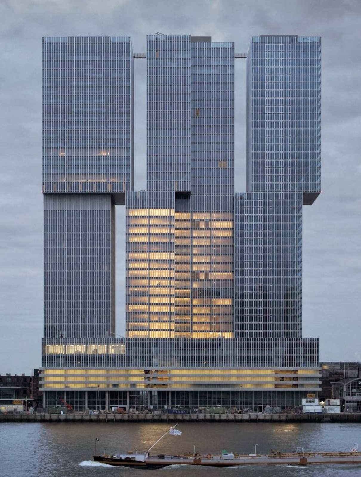 De rotterdam by oma for Architecture rotterdam