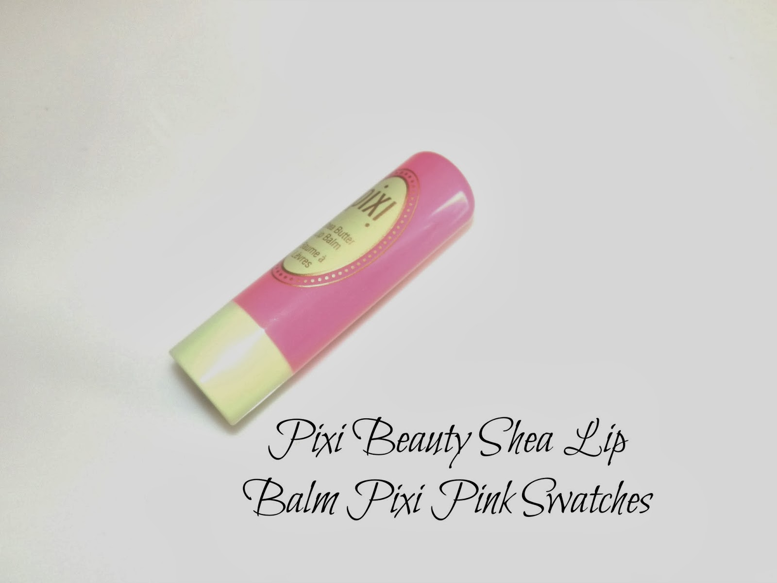 Pixi Beauty Shea Butter Lip Balm Pixi Pink Swatches