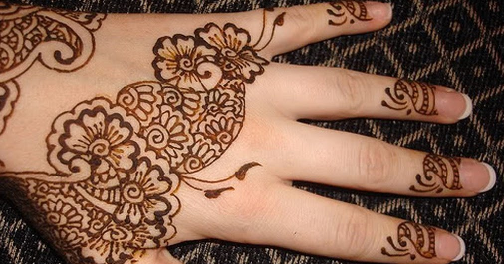 Where Do Mehndi Patterns Come From : Mehndi designs for kids easy hands to do and eid