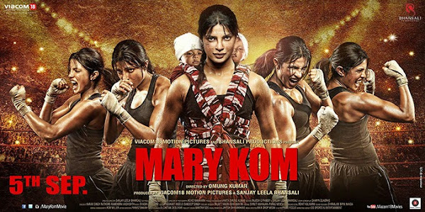 Mary Kom (2014) Movie Poster No. 4