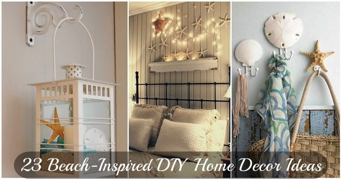 23 Beach-Inspired DIY Home Decor Ideas