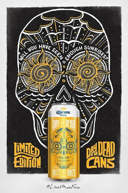 publicidad, Halloween, 2013, Corona extra