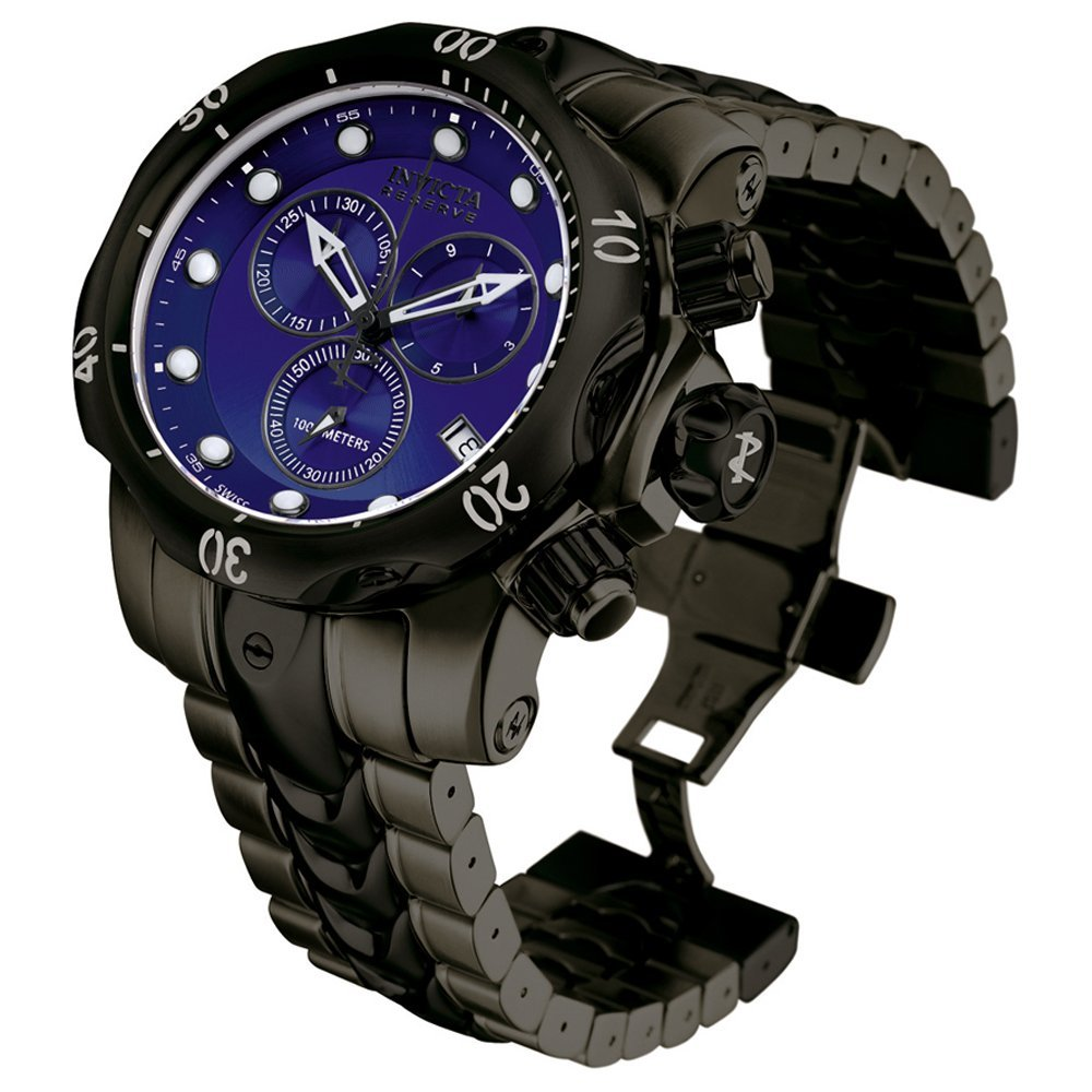 invicta s 5731 reserve collection black and gunmetal