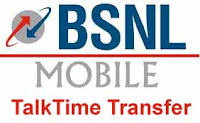 BSNL Mobile Talktime Transfer