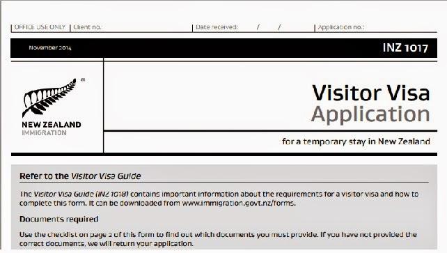 Mei Days Aplikasi Visa New Zealand Dan Visa Transit Australia