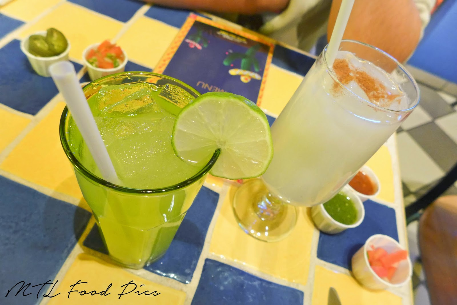 Mexican Drinks - Lemonade and Horchata
