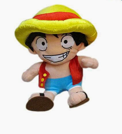Peluche Luffy Pirata de One Piece