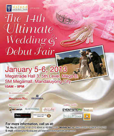 Ultimate Wedding & Debut Fair 2013