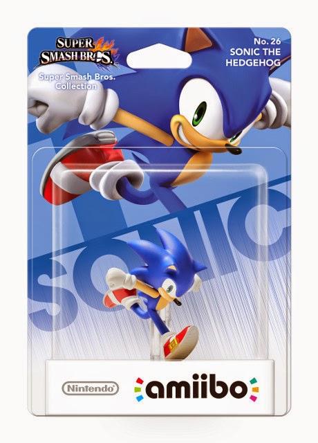 JUGUETES - NINTENDO Amiibo - 26 : Figura Sonic The Hedgehog   (20 febrero 2015) | Videojuegos | Muñeco | Super Smash Bros Collection  Plataforma: Wii U & Nintendo 3DS