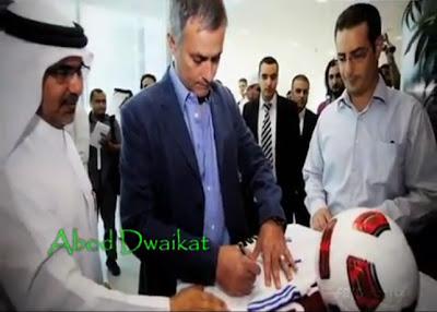 Mourinho dan kedekatannya dengan anak-anak Palestina