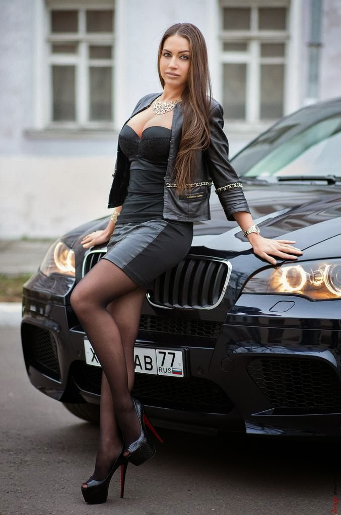 Sexy Girl with Black Pantyhose and High Heels | Hot Girls ...