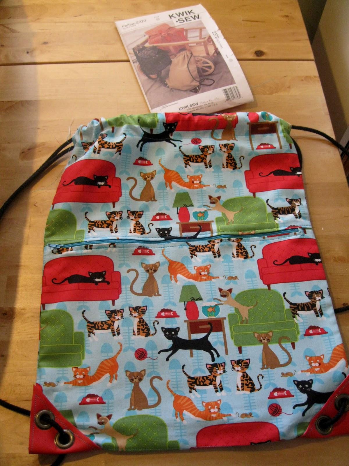 Nagle5 News: Drawstring Backpack