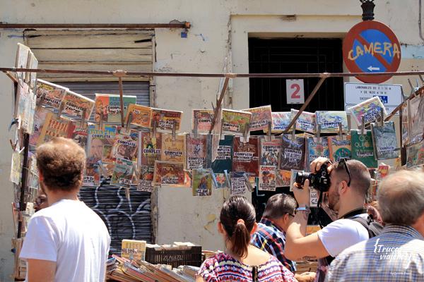 coleccionismo en el Rastro en Madrid