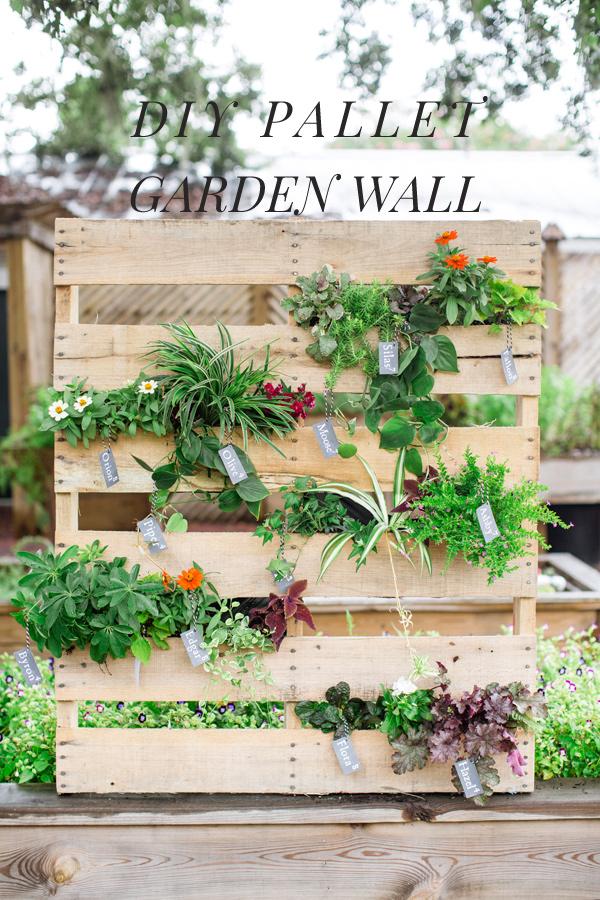 Top HOME & GARDEN: DIY : Une palette recyclée pour un jardin vertical IX73