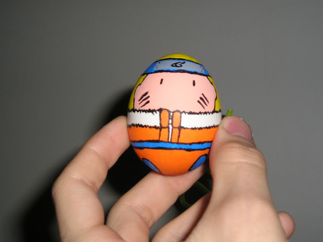 Naruto na jajku - coś z okazji Światowego Dnia Jaja