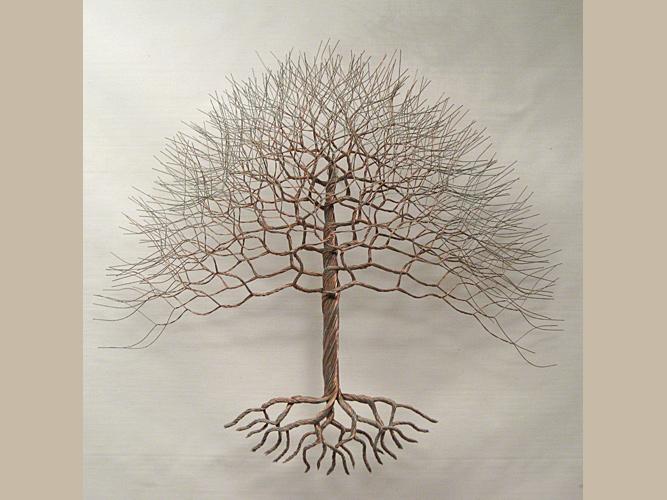 Paradis express trees company - Sculpture fil de fer ...