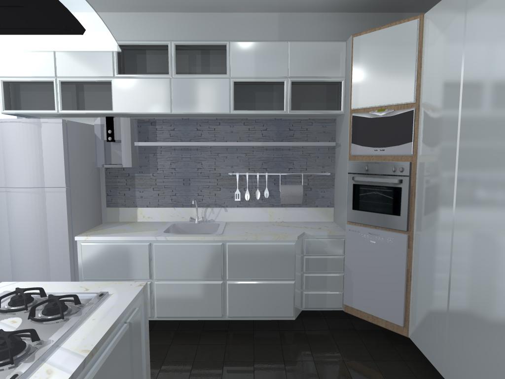 #6C5F4E Mobiliário cozinha Residência Rib. Bonito 1 ~ arquitetura 1024x768 px Cozinha Mobiliário_1031 Imagens