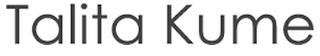 logo da Talita Kume