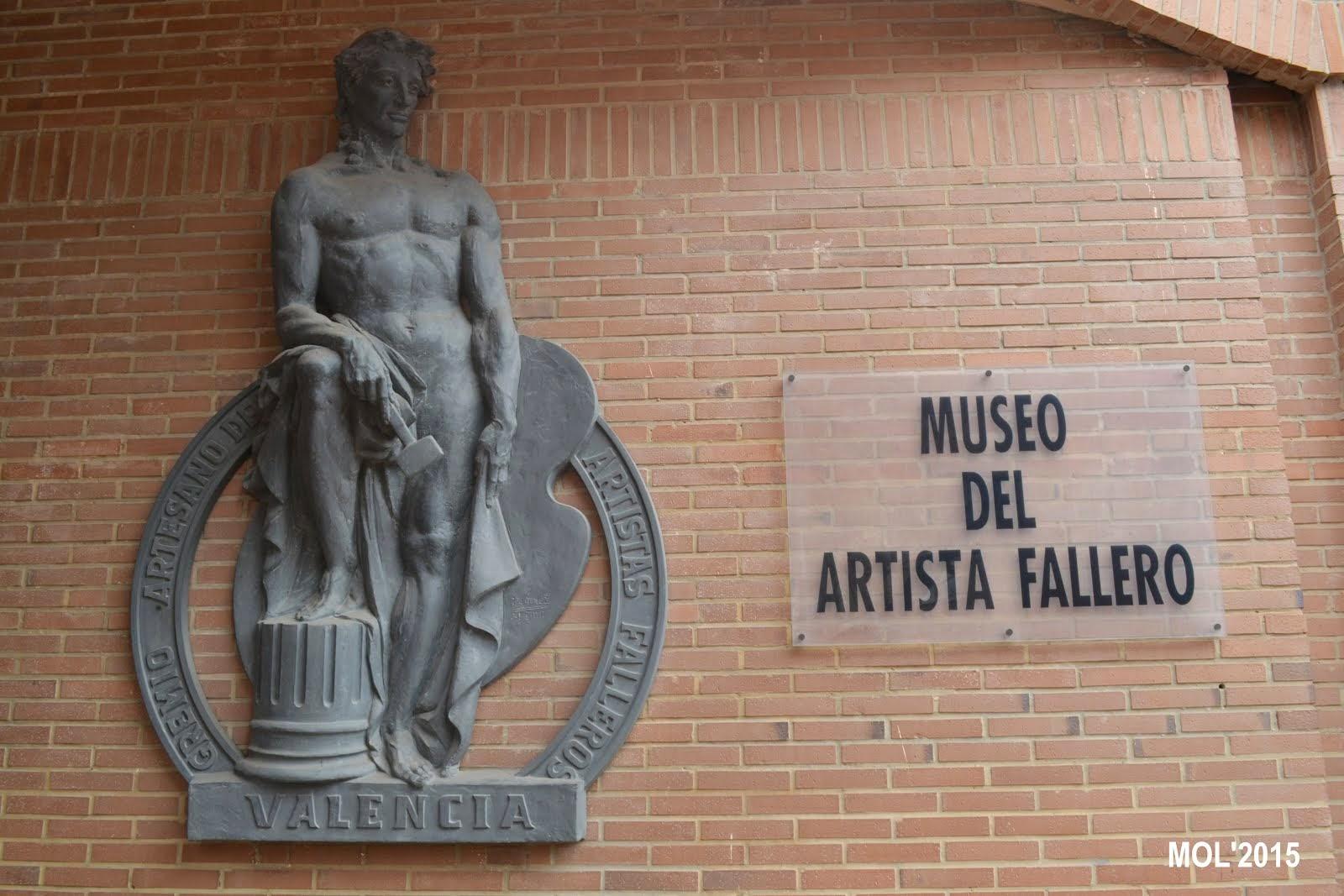 VISITA AL MUSEO DEL ARTISTA FALLERO EN VALENCIA
