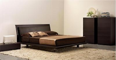 На фото спальная кровать модели Joe от фабрики Feg, дизайн Nunziati Matteo.