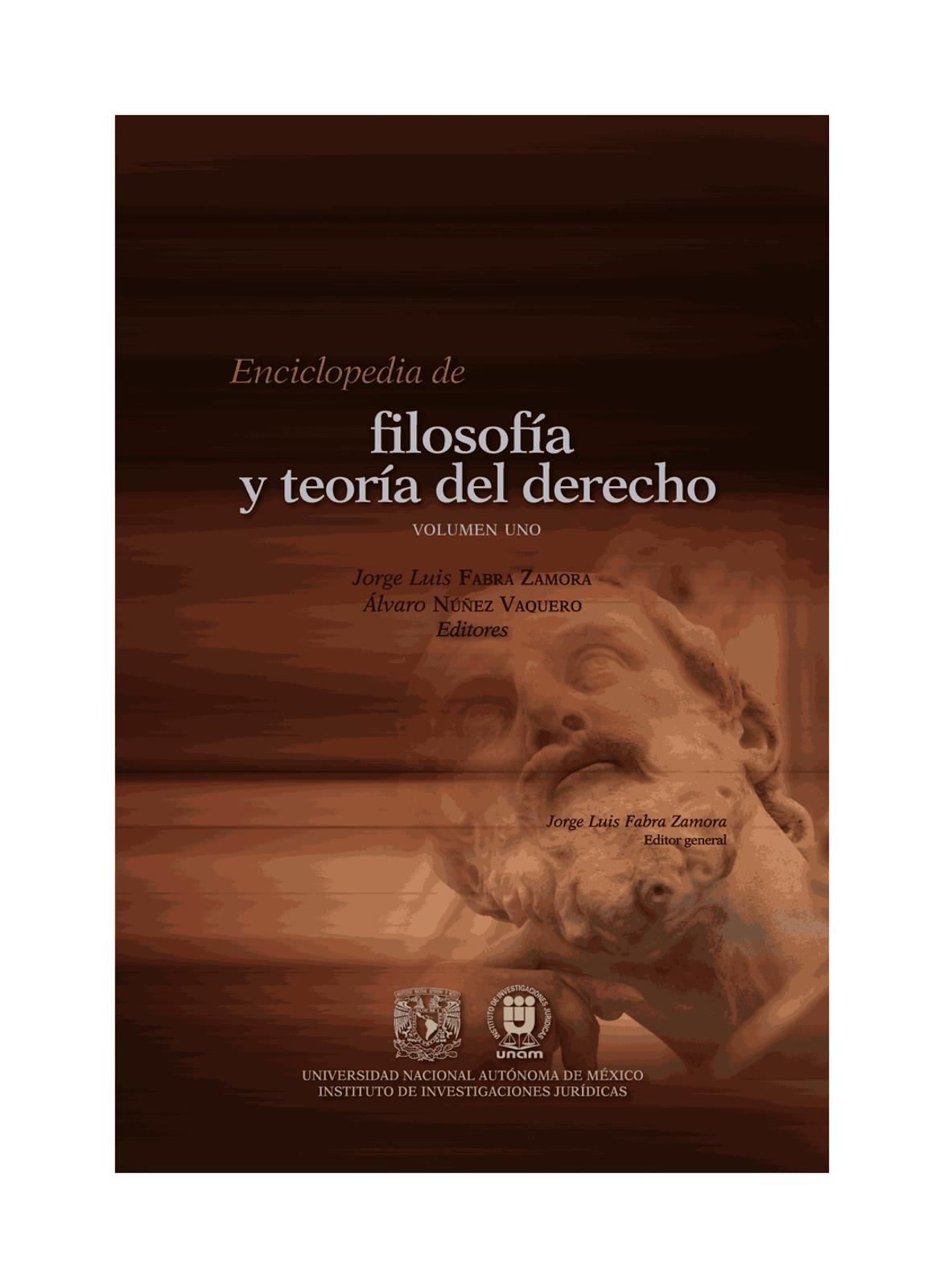 Enciclopedia de Filosofía del Derecho