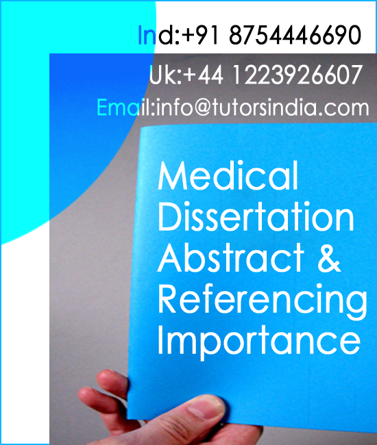 Make way with Medical Dissertation Writing Service