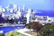 Vista de La Bahia de La Habana, Cuba